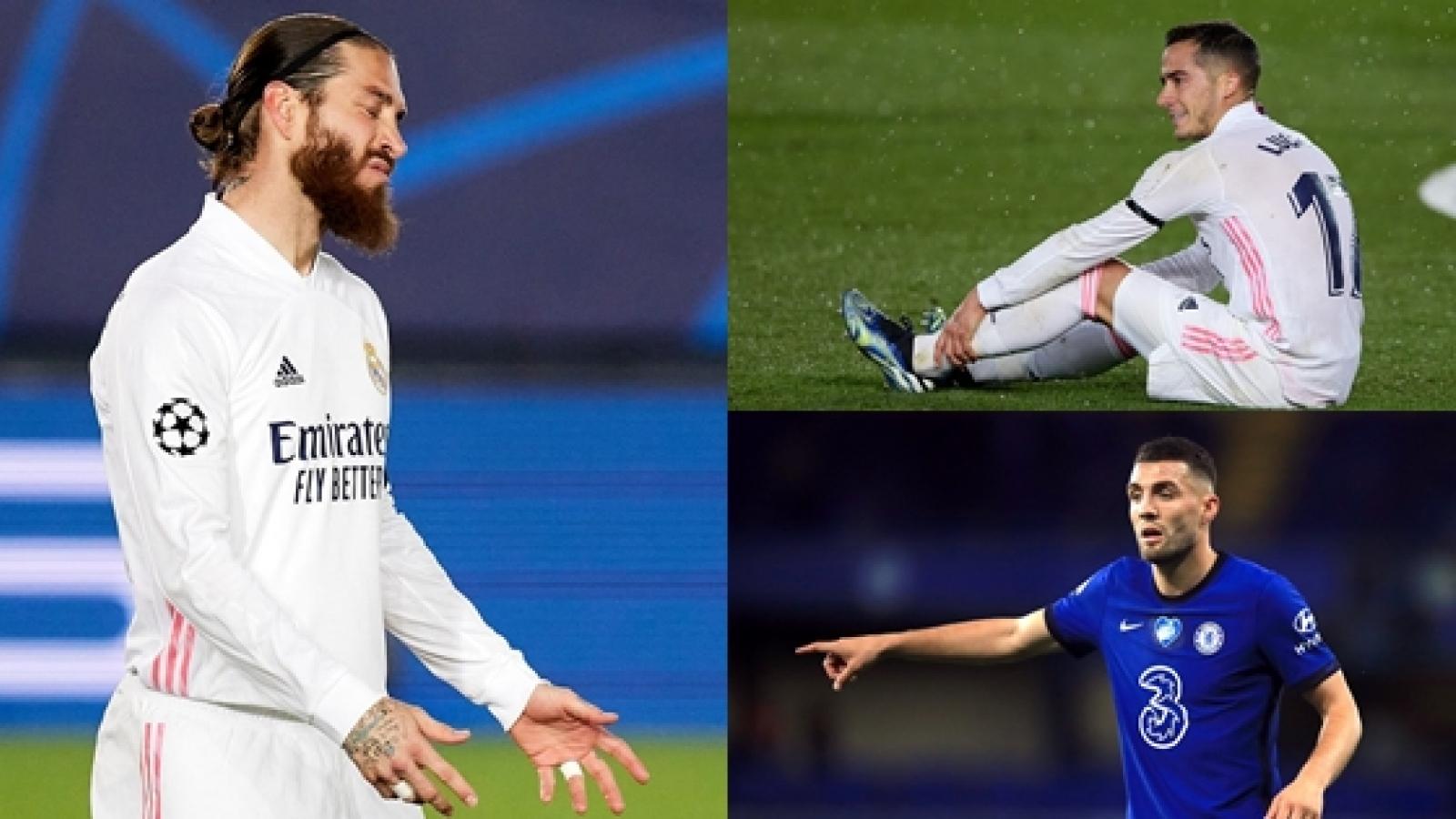 """Điểm danh những """"thương binh"""" vắng mặt ở bán kết Champions League"""