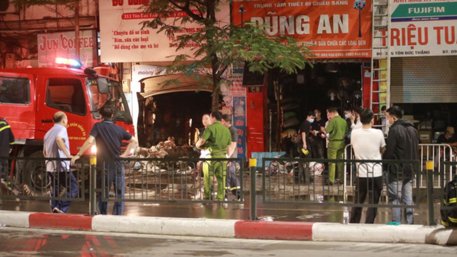 Hà Nội hỗ trợ gia đình nạn nhân vụ cháy làm 4 người chết
