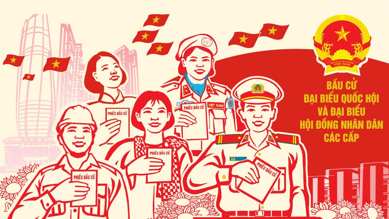 Cơ cấu người ứng cử Đại biểu Quốc hội khóa XV của cả nước