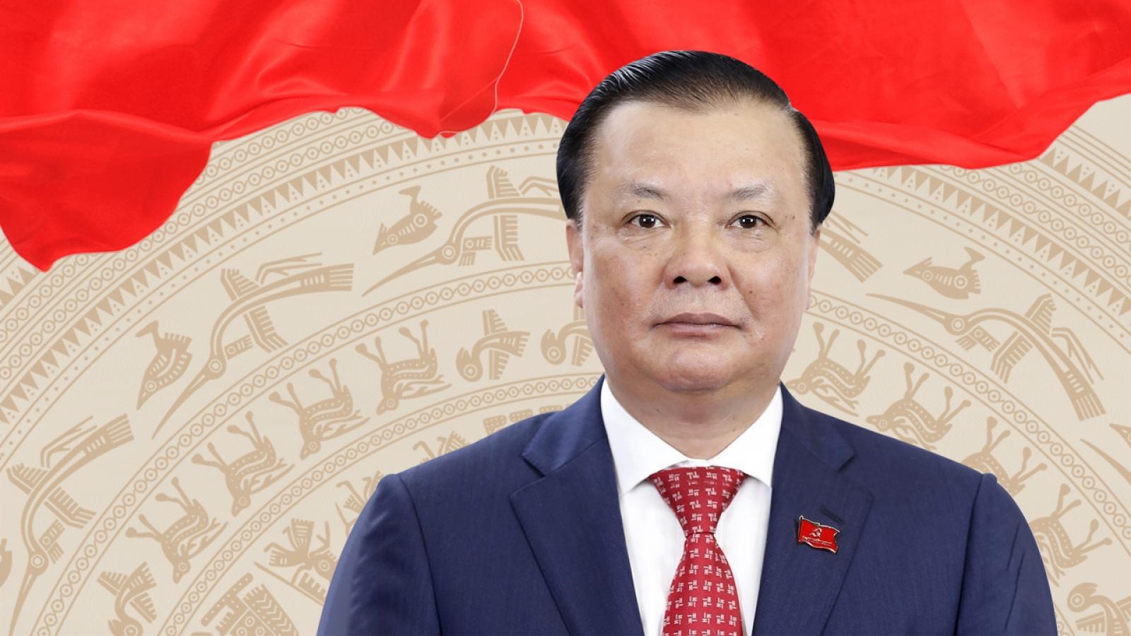Bí thư Thành uỷ Hà Nội Đinh Tiến Dũng được giới thiệu ứng cử đại biểu Quốc hội khoá 15