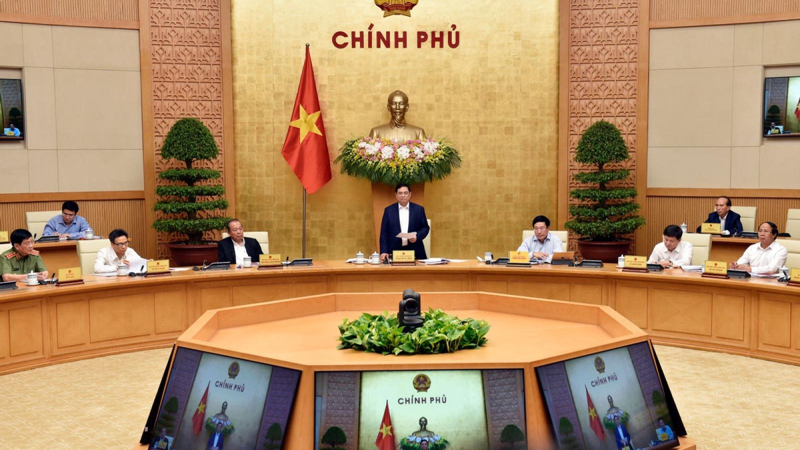 Thủ tướng trực tiếp phụ trách Bộ Quốc phòng, Bộ Công an, VOV, VTV, TTXVN