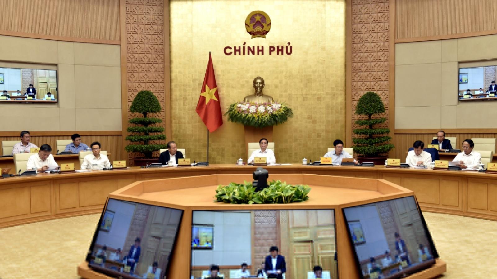Nghị quyết Phiên họp triển khai công việc của Chính phủ sau kiện toàn