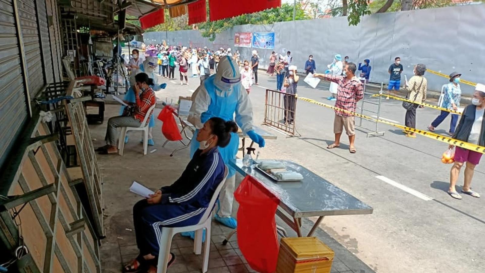 Campuchia phát hiện thêm 291 ca mắc Covid-19 mới