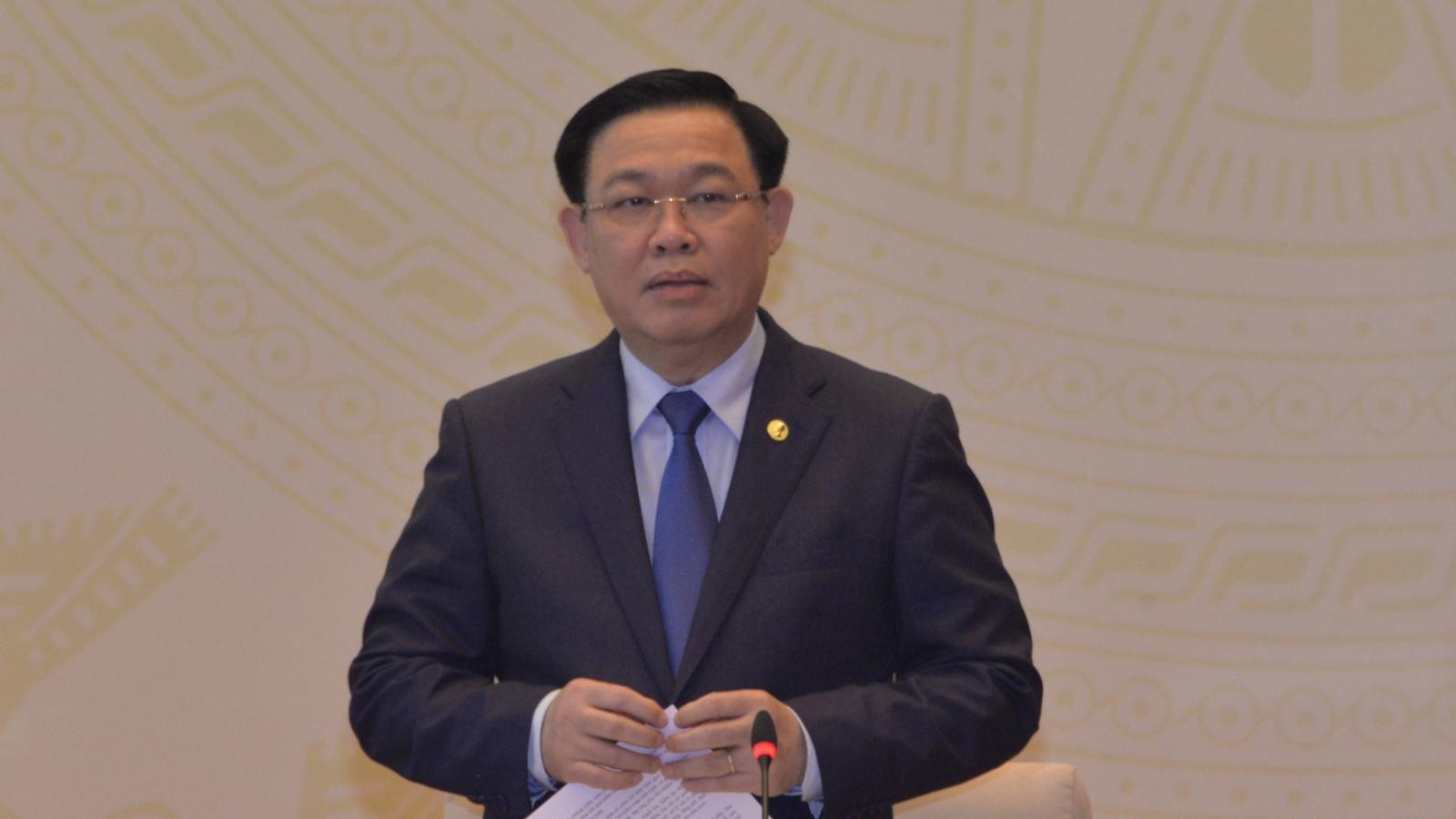 Chủ tịch Quốc hội chủ trì Hội nghị của UBTVQH với các đại biểu chuyên trách ở Trung ương