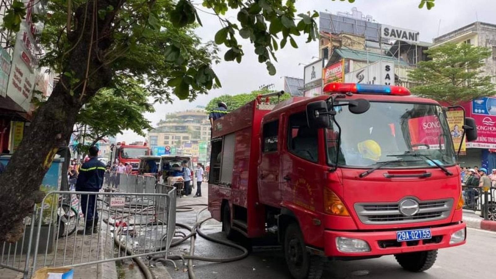 Công an Hà Nội khuyến cáo người dân phòng chống cháy nổ trong nhà