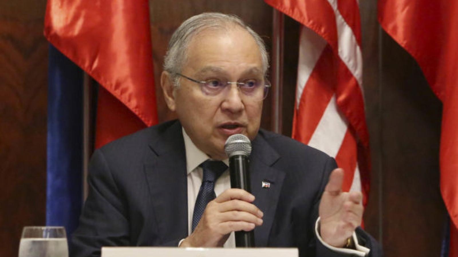 """Đại sứ Philippines tại Mỹ: """"Hy vọng Trung Quốc không trở thành kẻ thù của chúng tôi"""""""