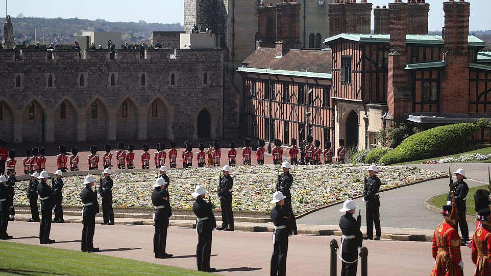 Trực tiếp: Anh tổ chức lễ tang Hoàng thân Philip