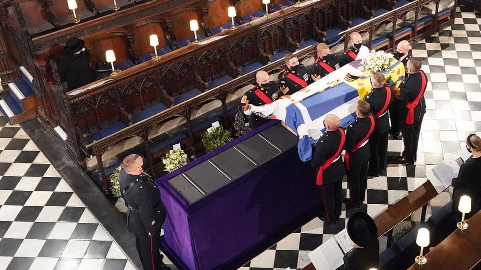 Anh tổ chức lễ tang Hoàng thân Philip