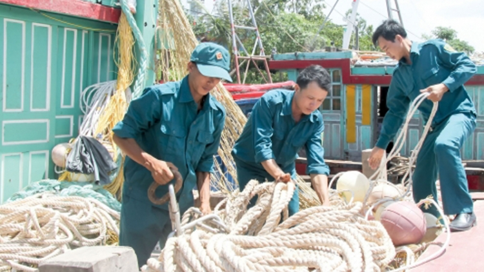Bác bỏ thông tin không đúng về lực lượng dân quân tự vệ biển Việt Nam