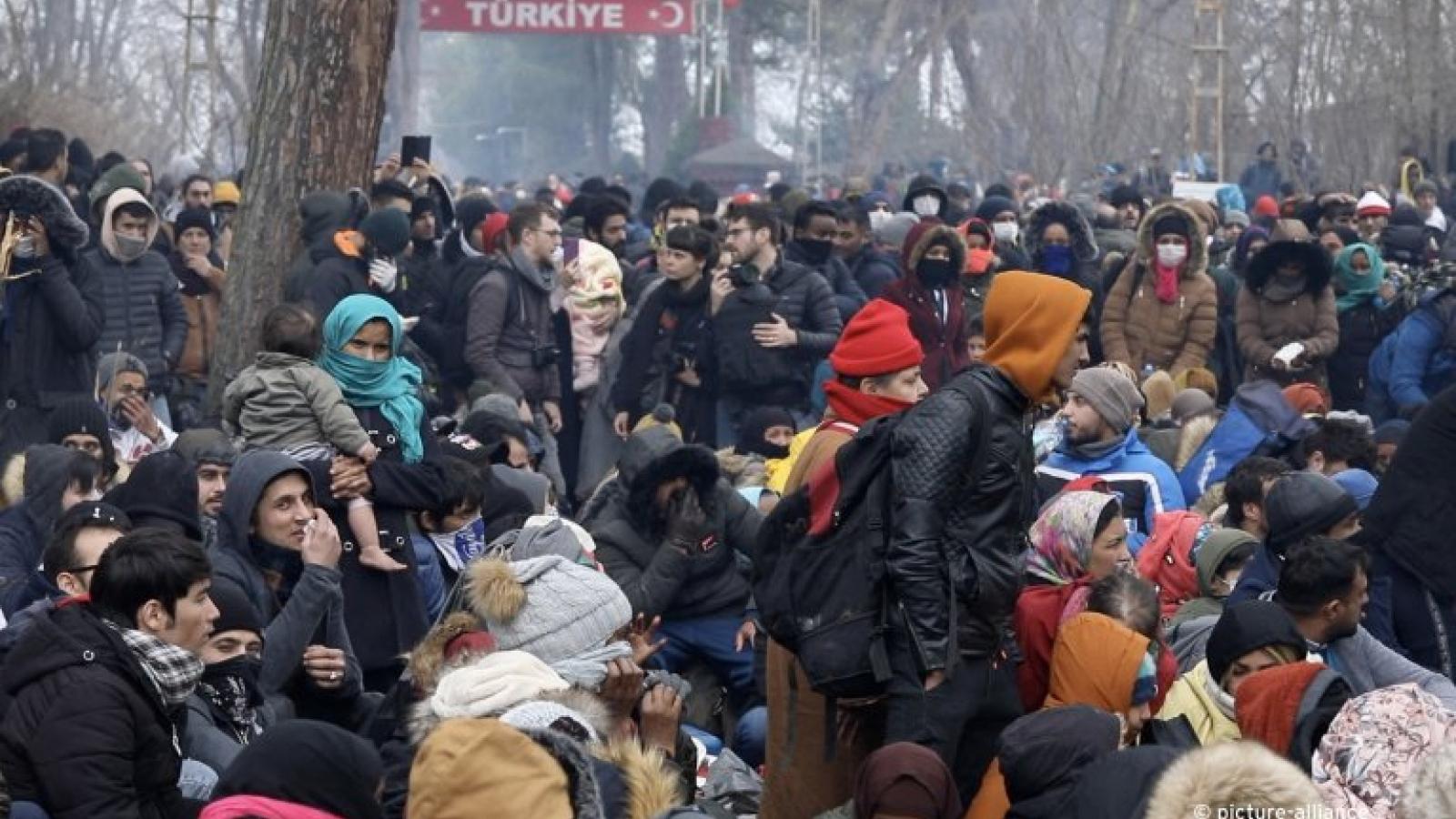 Hi Lạp và Thổ Nhĩ Kỳ lại đùn đẩy trách nhiệm trong vấn đề di cư
