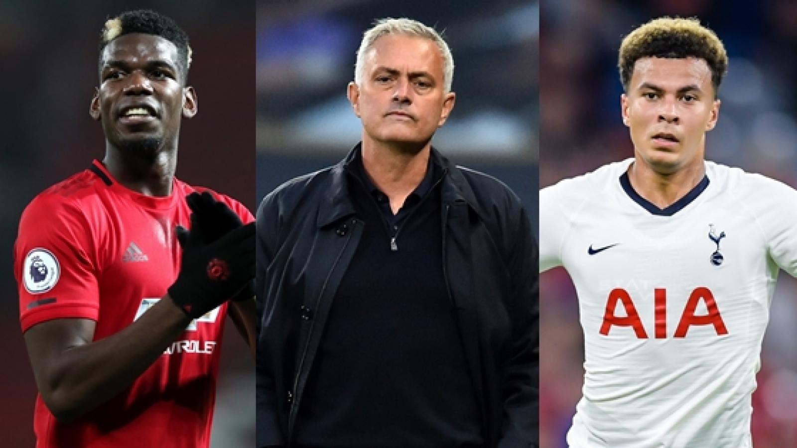 """Đội hình 11 cầu thủ có """"thù oán"""" với Jose Mourinho"""