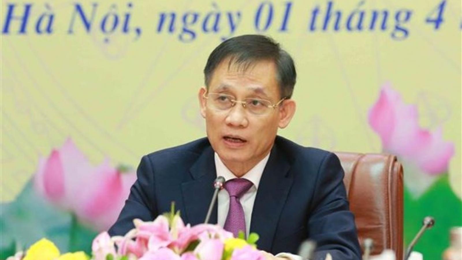 Thông báo kết quả Đại hội Đảng XIII tới Đảng Nhân dân Cách mạng Lào