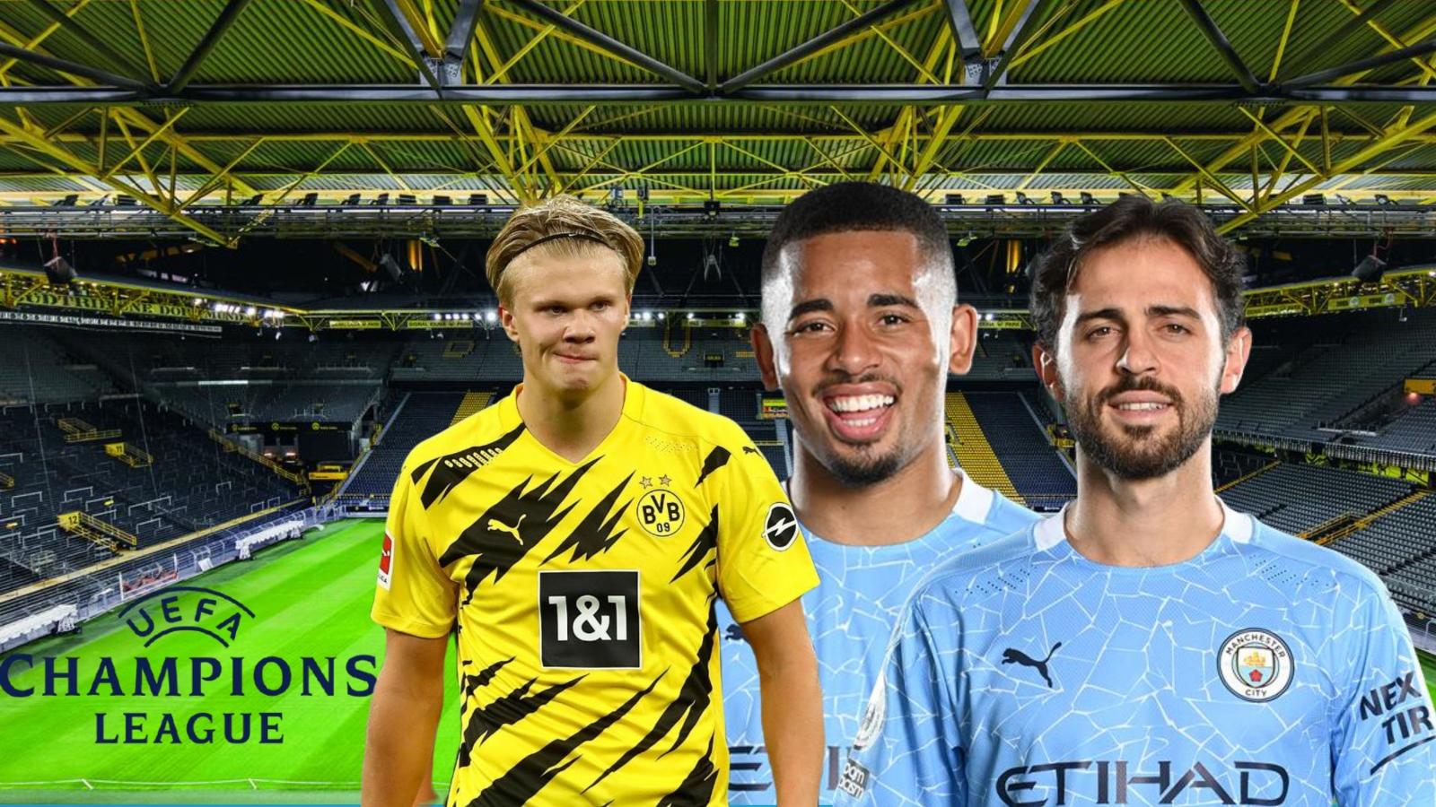 Dự đoán kết quả, đội hình xuất phát trận Dortmund – Man City