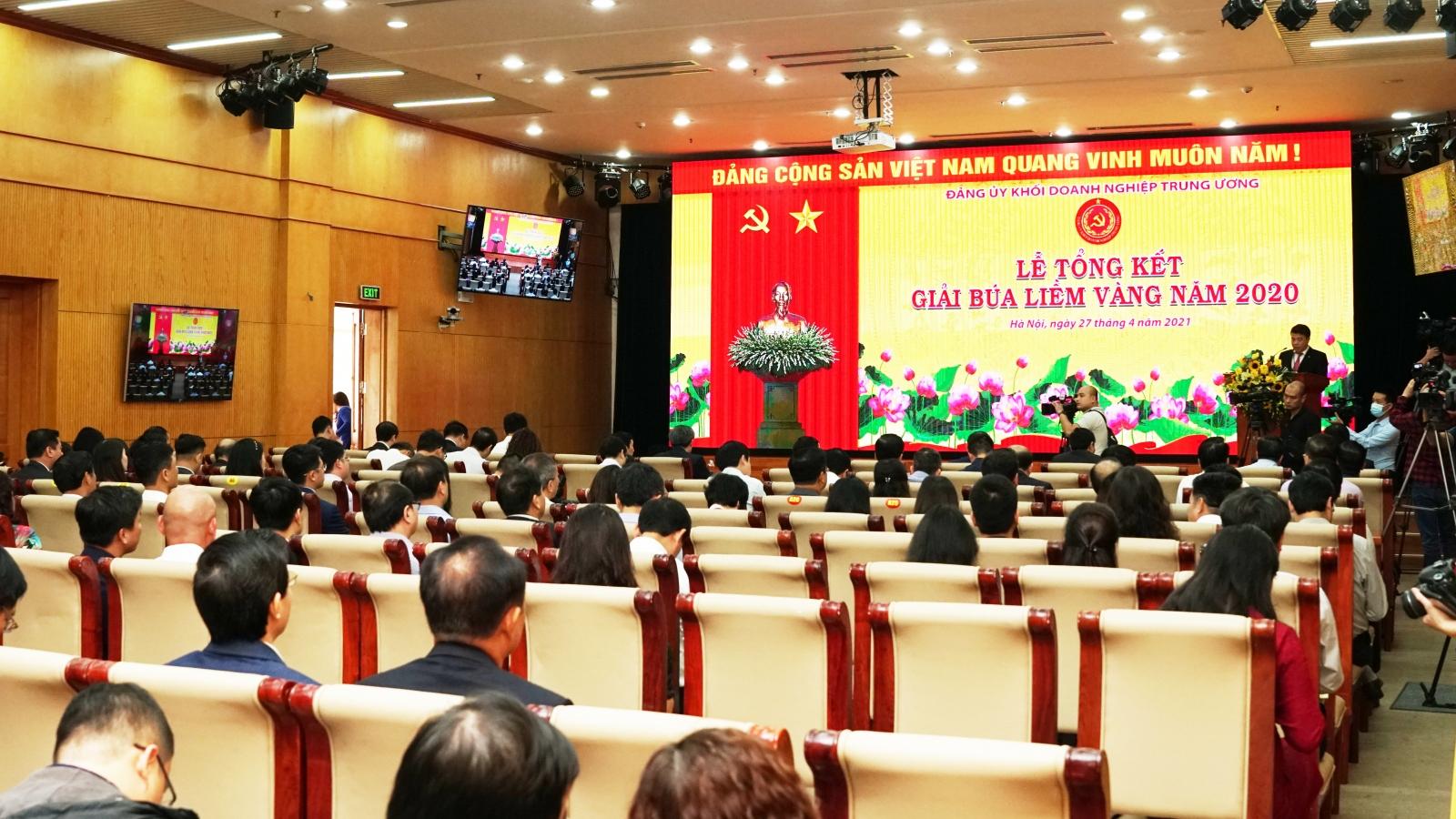 """20 tác phẩm đoạt giải """"Búa liềm vàng"""" của Đảng ủy Khối Doanh nghiệp Trung ương"""