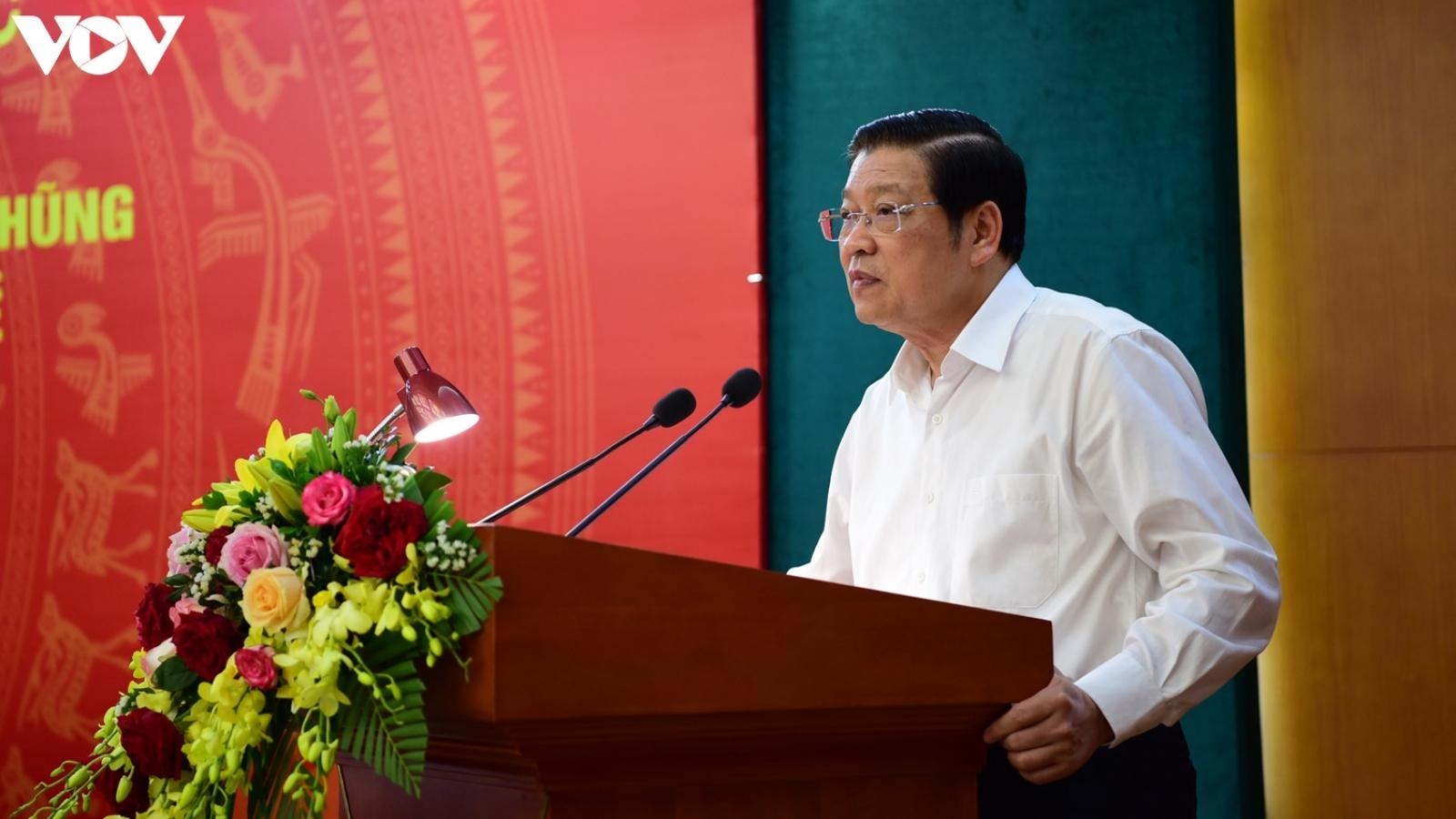 Trưởng Ban Nội chính Trung ương: Có cơ chế để bảo vệ những người tố cáo, chống tham nhũng
