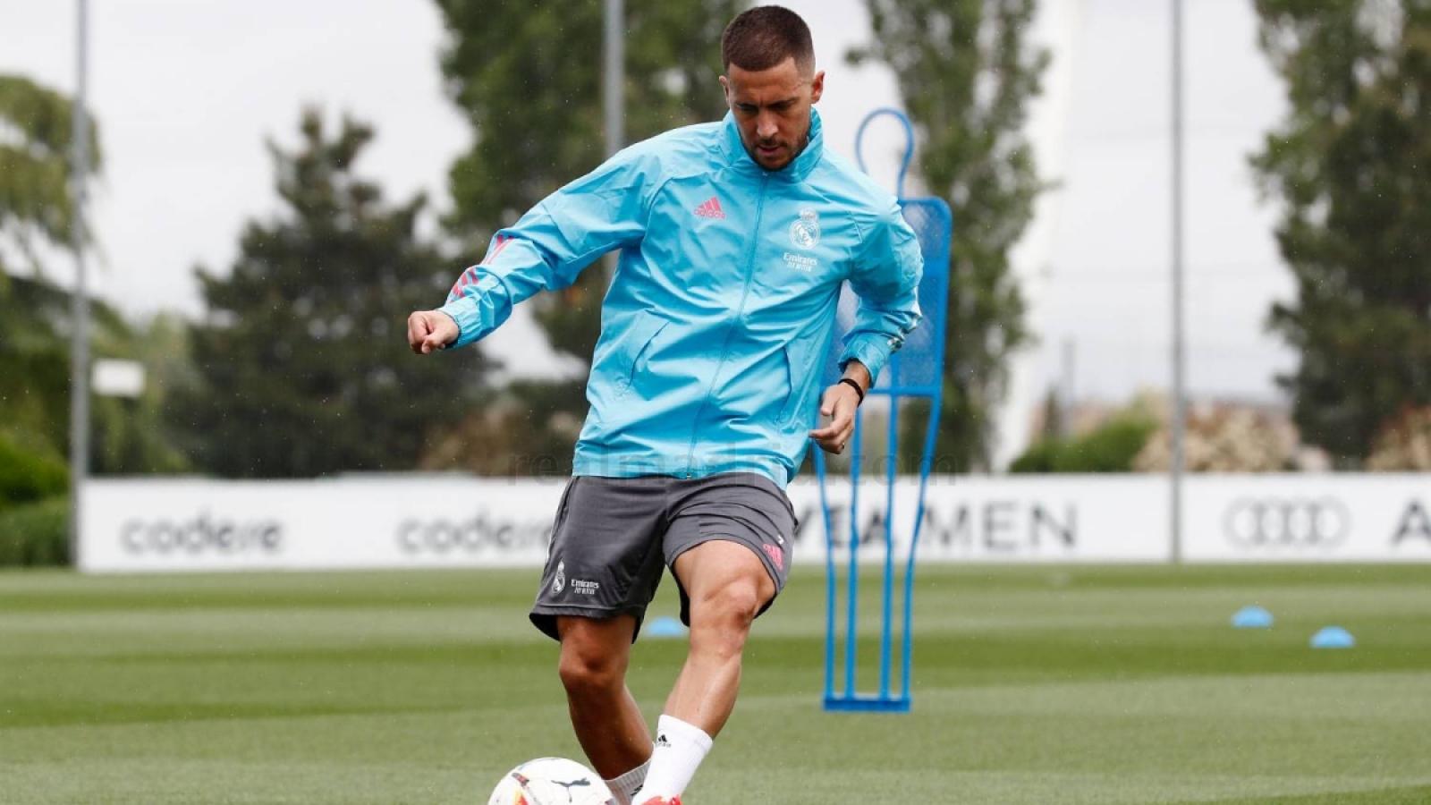 Hazard tích cực tập luyện, sẵn sàng đối đầu Chelsea