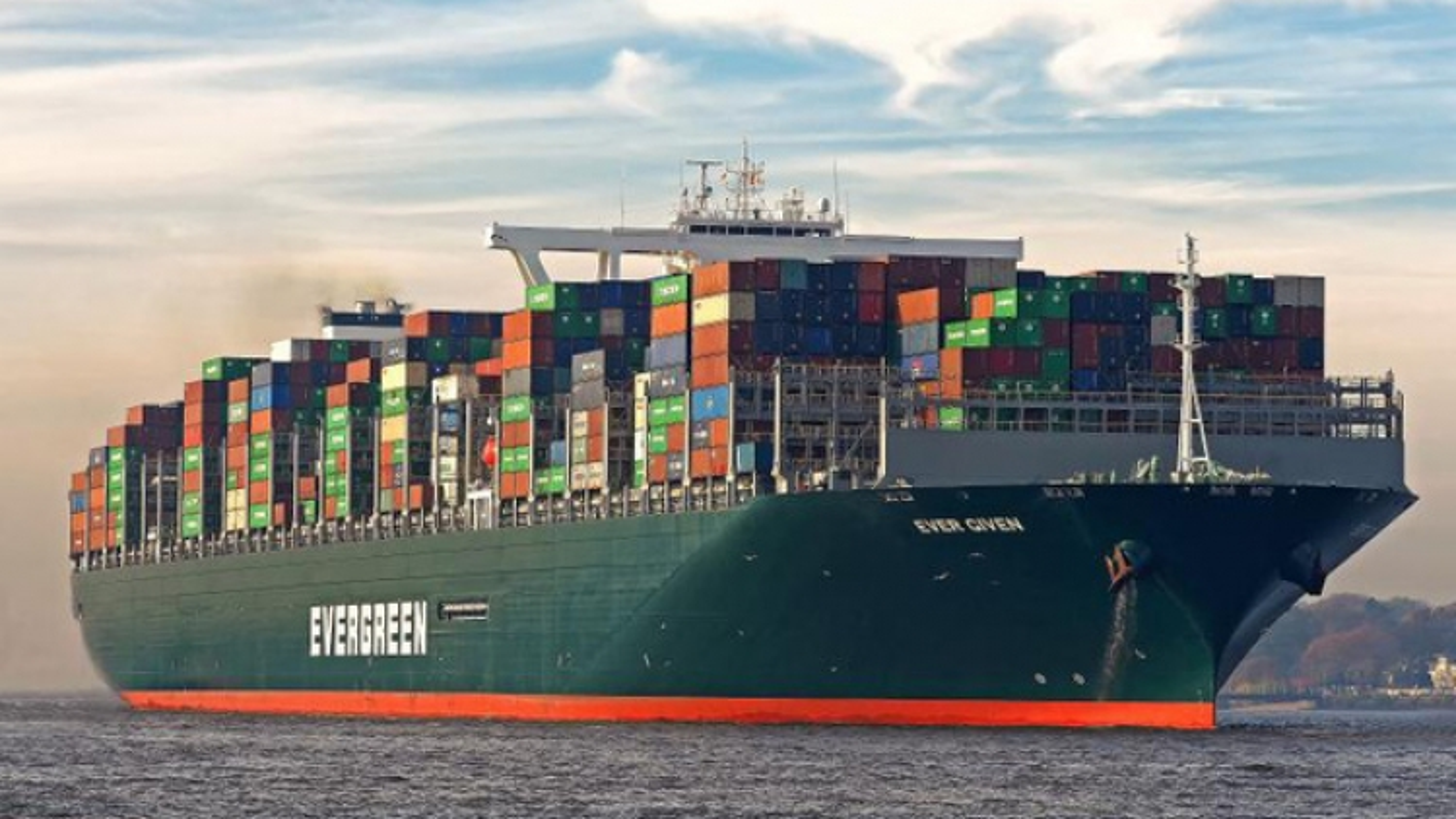 """""""Ma trận"""" ngành vận tải biển, ai đền bù thiệt hại cho vụ mắc kẹt siêu tàu Ever Given?"""