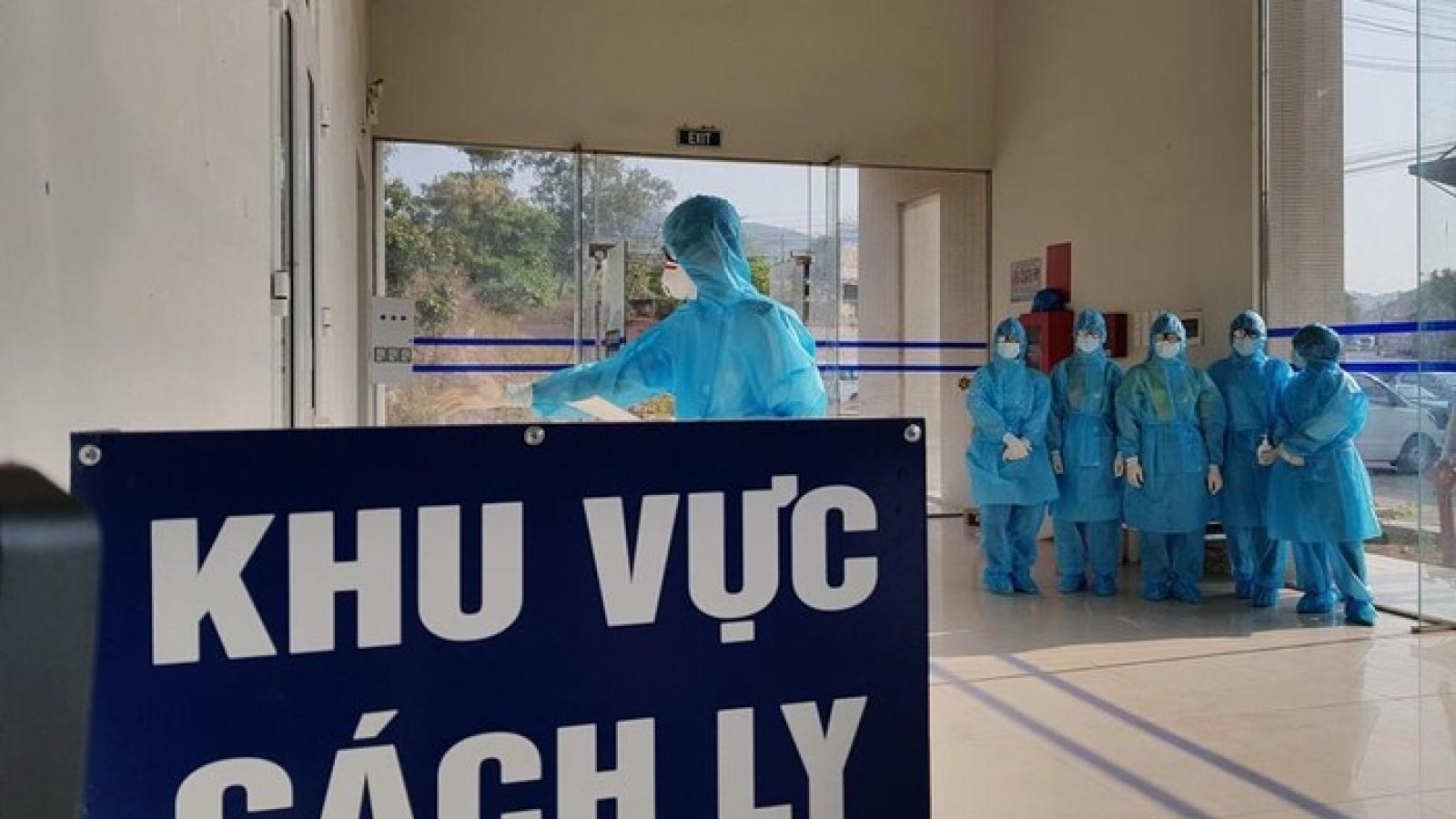Chiều 13/4, Việt Nam ghi nhận 7 ca mắc mới COVID-19 là người nhập cảnh