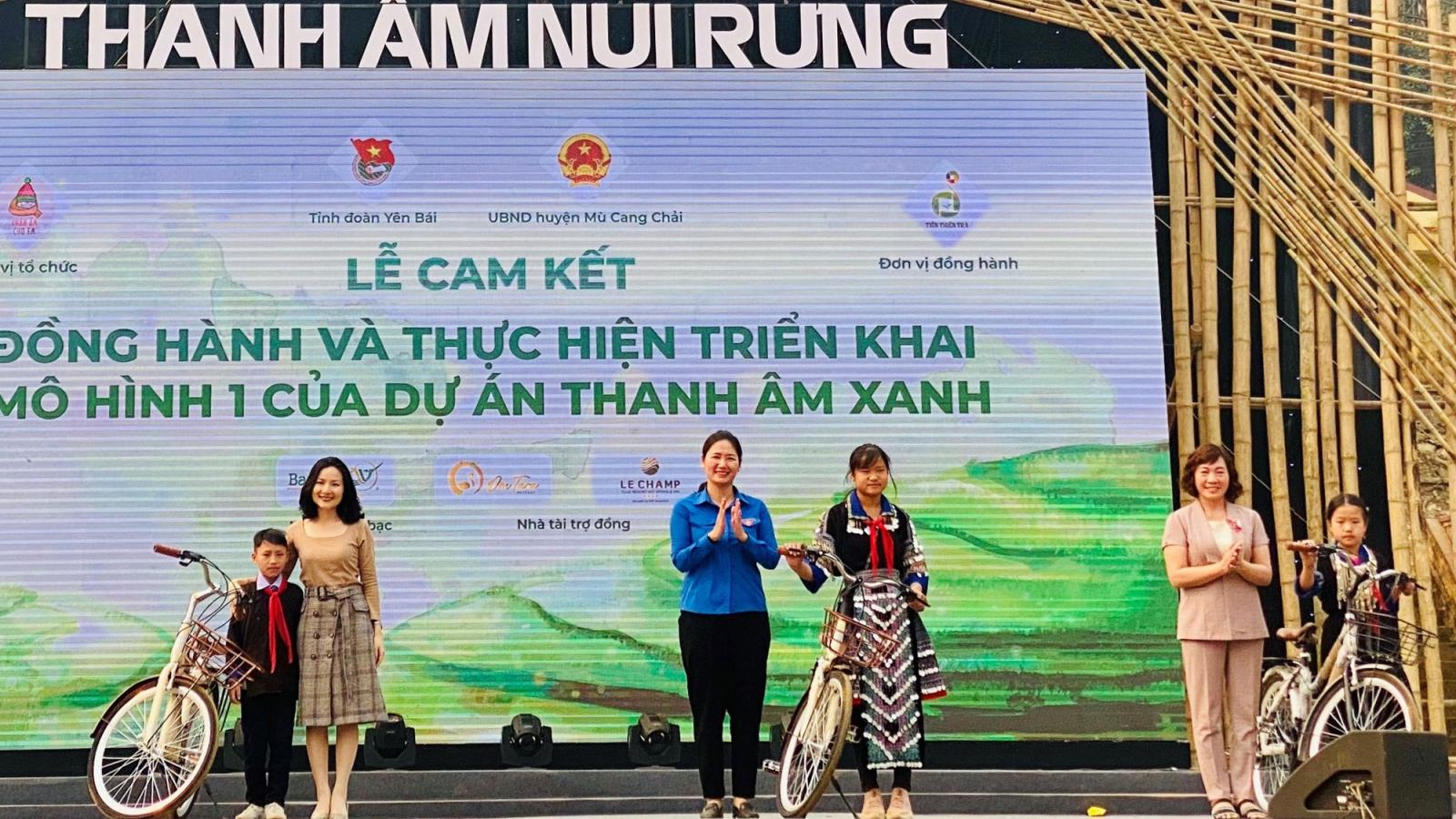 """Hòa nhạc """"Thanh âm núi rừng"""" tại Mù Cang Chải"""