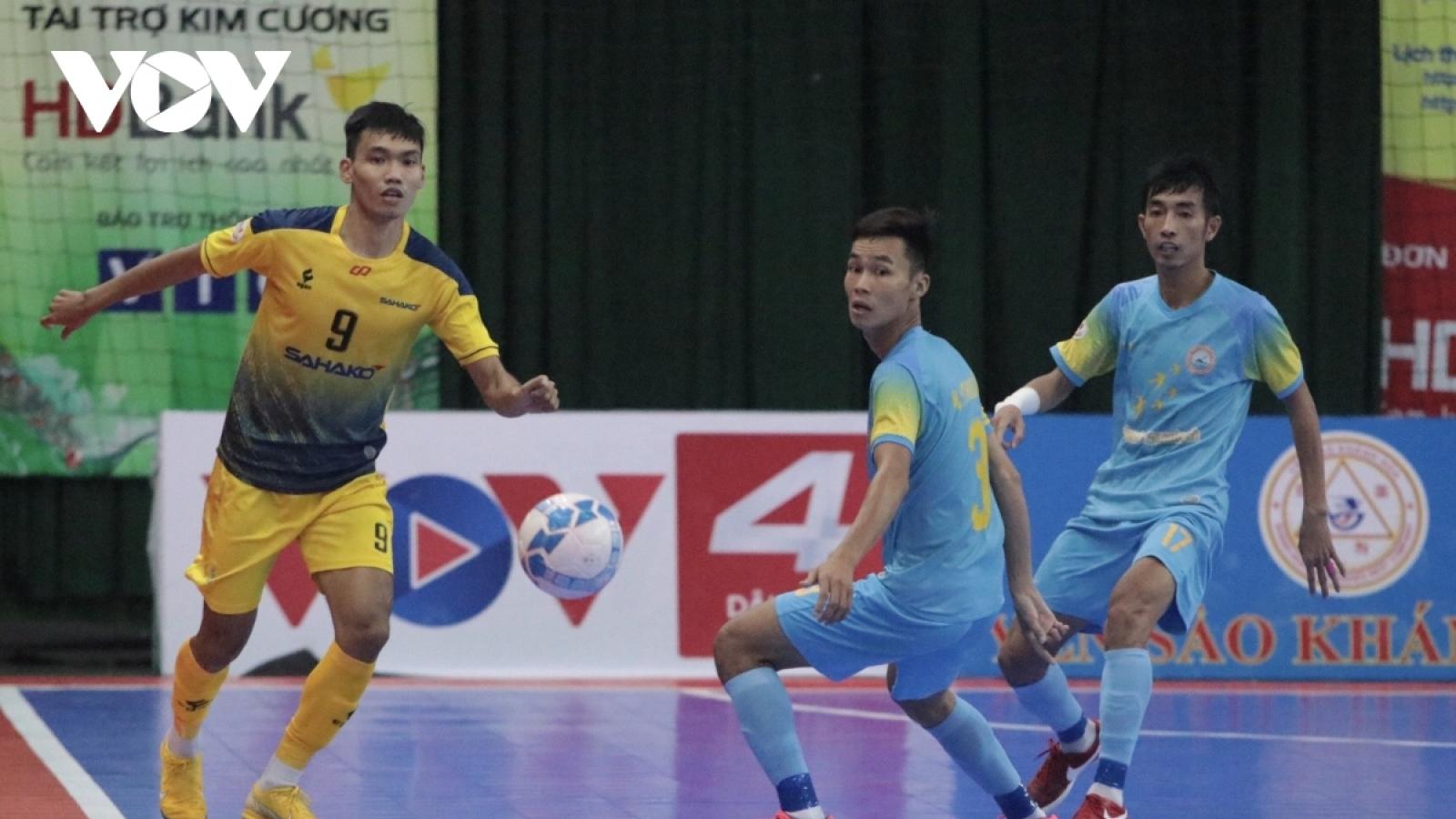 Xem trực tiếp Futsal HDBank VĐQG 2021: Sanatech Khánh Hòa - Hưng Gia Khang Đắk Lắk