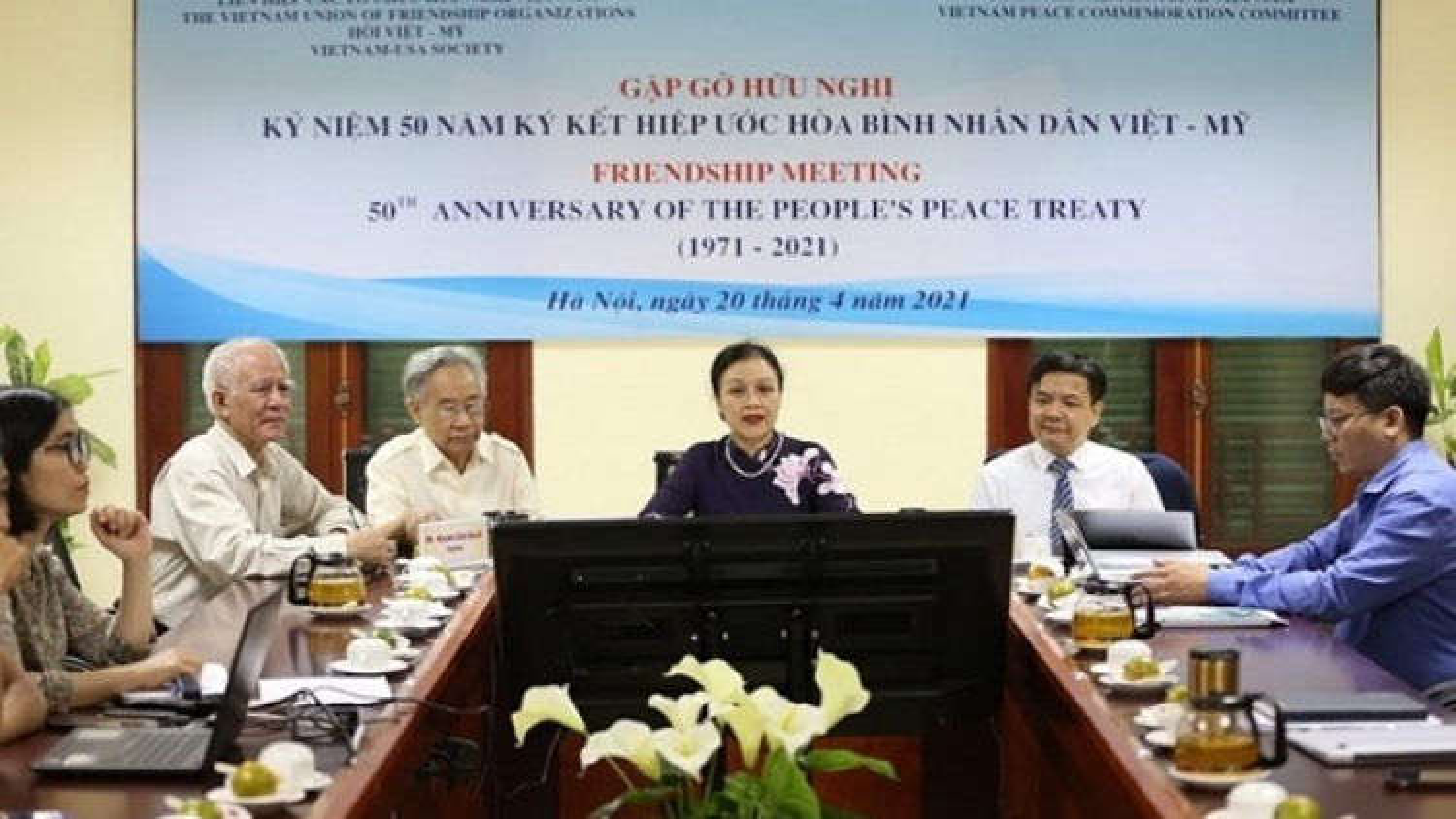 Gathering marks 50 years of Vietnam - US People's Peace Treaty