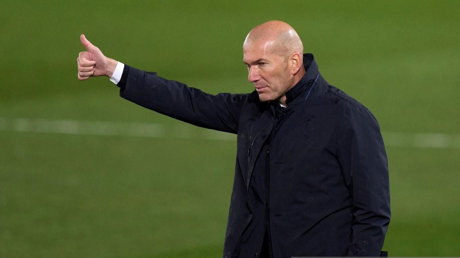 """HLV Zidane: """"Real Madrid xứng đáng giành chiến thắng"""""""