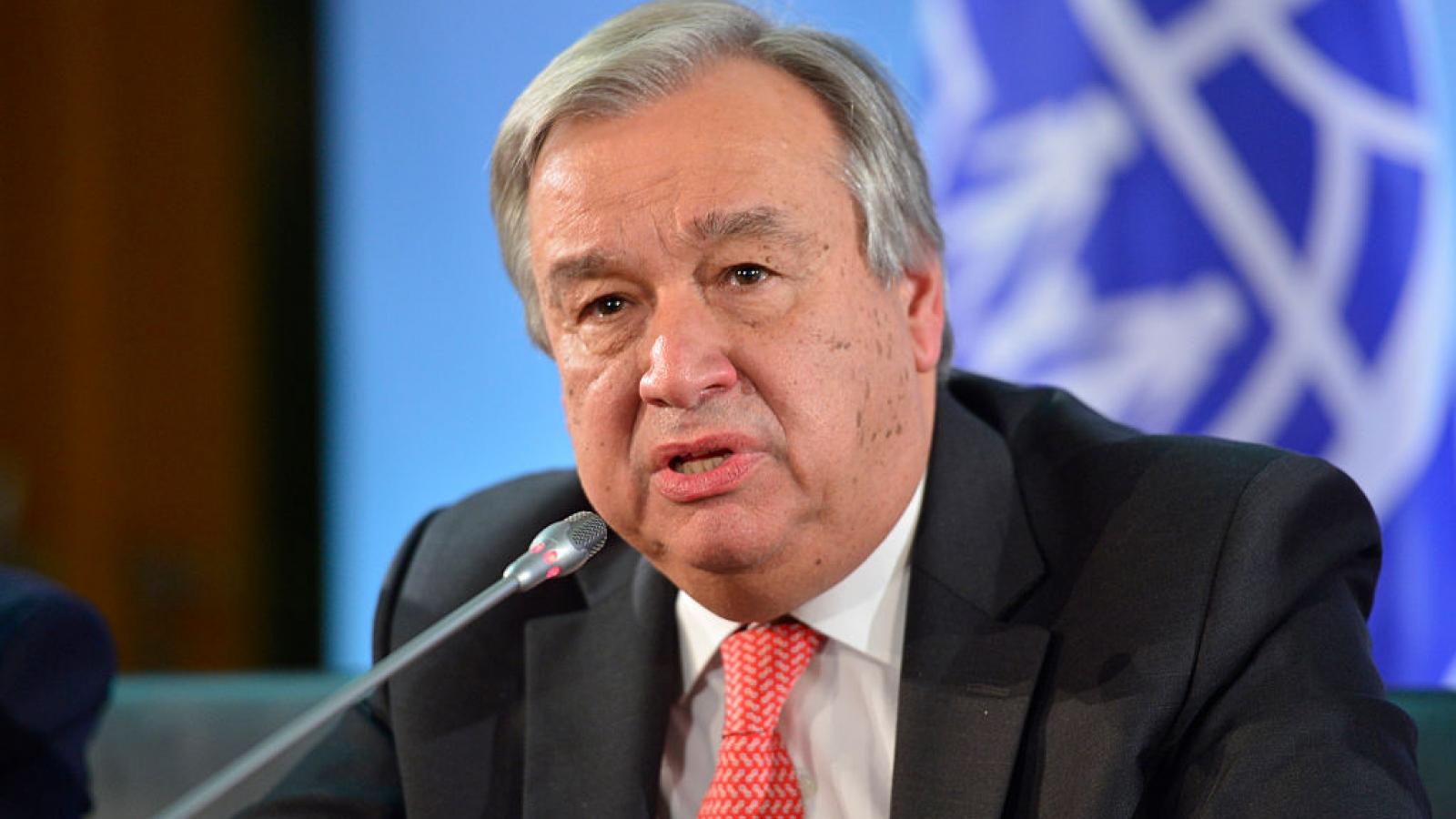 Tổng thư ký LHQ cảnh báo thế giới đang bên bờ vực thẳm của vấn đề khí hậu
