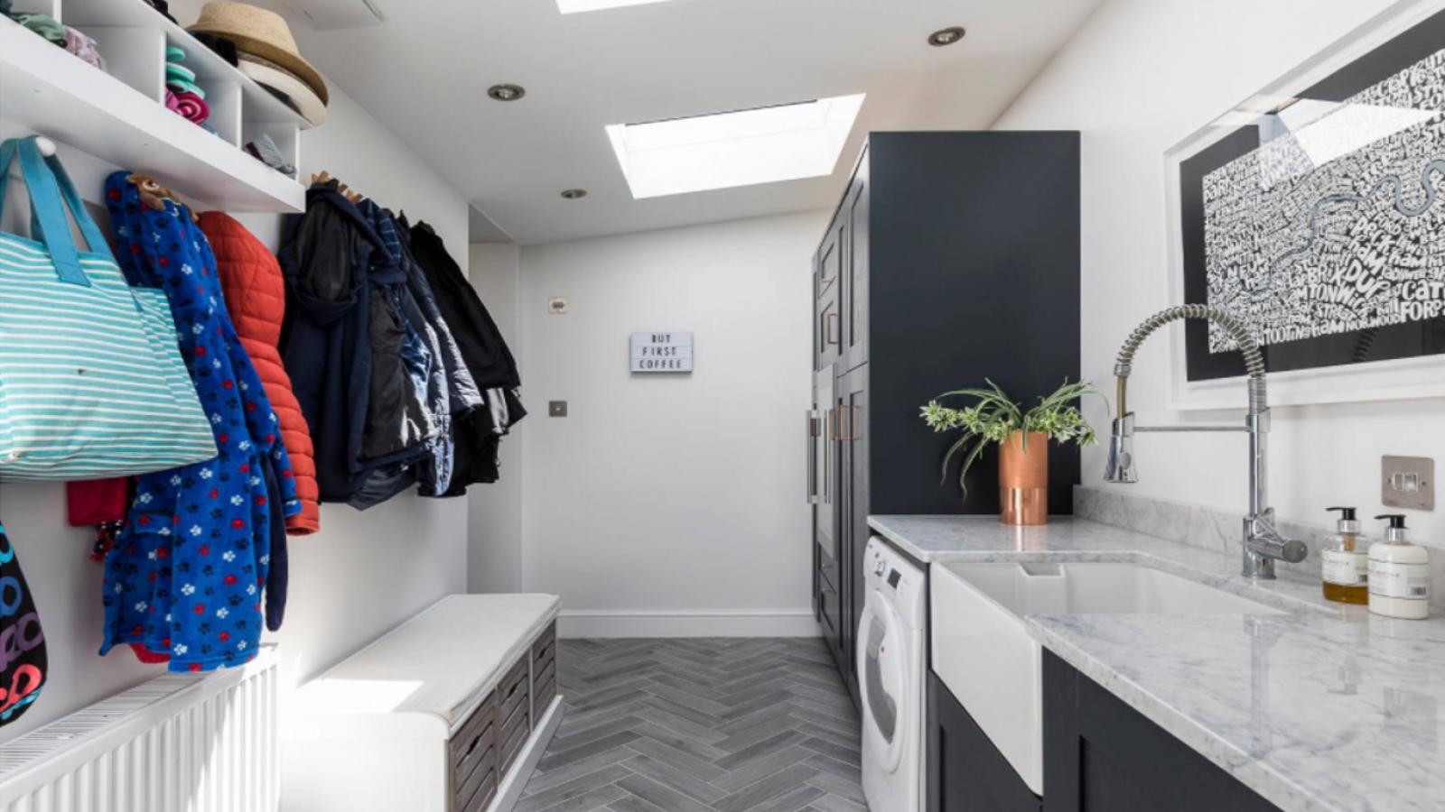 5 điều cần lưu ý khi bố trí không gian giặt là trong nhà