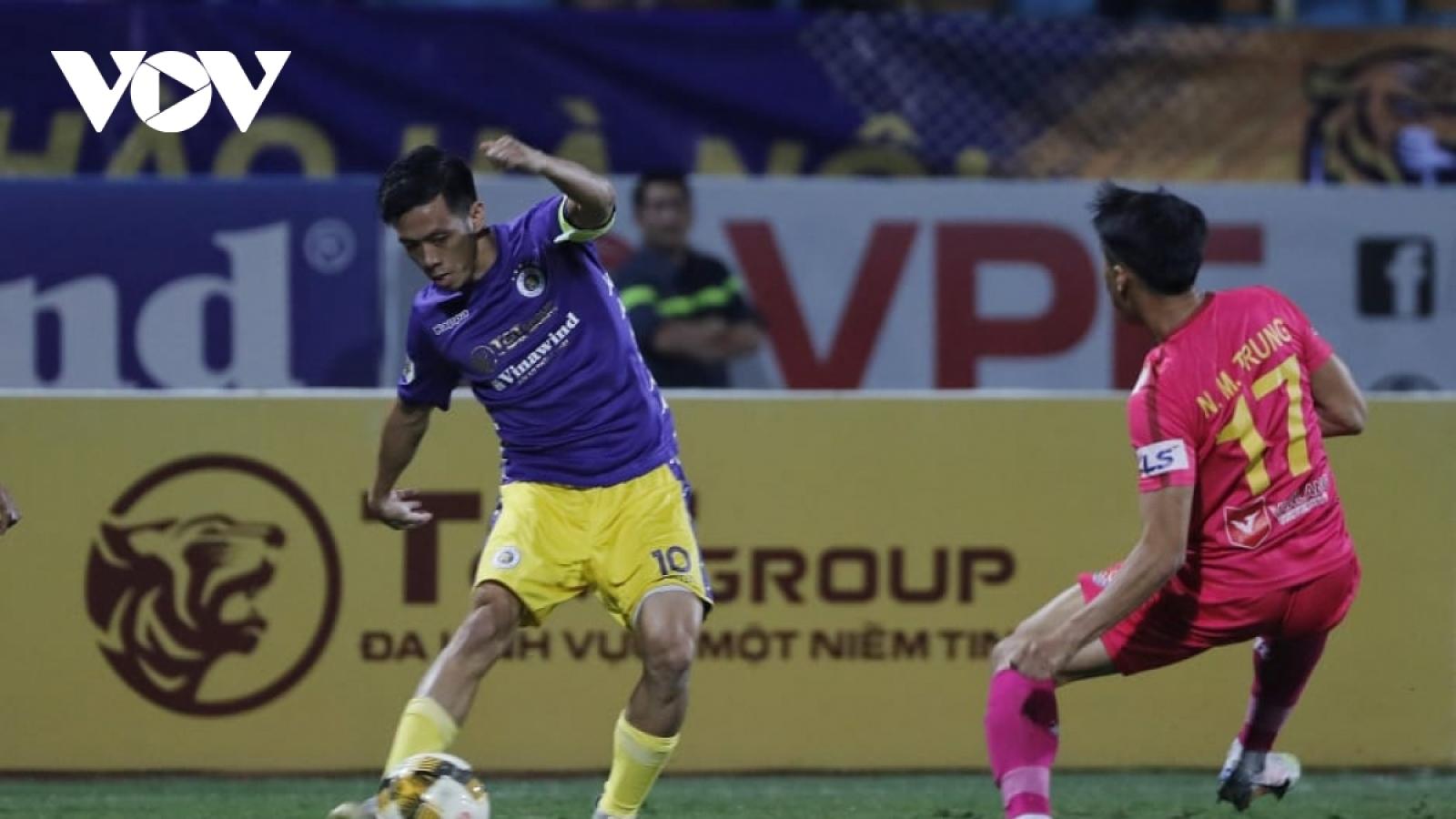 Trận Hà Nội FC - Sài Gòn FC không đón khán giả tới sân