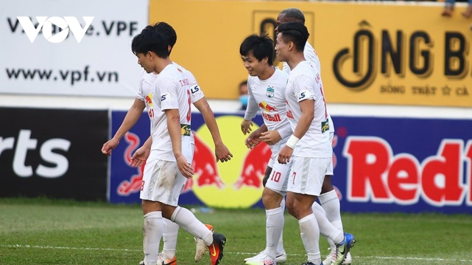 TRỰC TIẾP HAGL 1-0 Hà Nội FC: Xuân Trường lập siêu phẩm