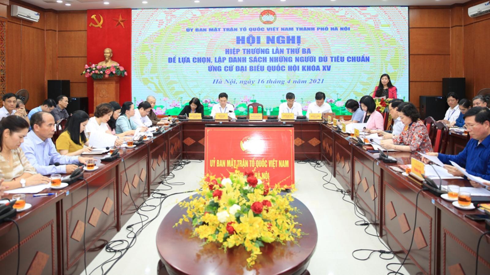 Điều chỉnh cơ cấu đại biểu Quốc hội khóa XV của TP. Hà Nội