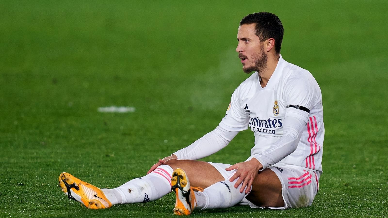 Real Madrid gạch tên Hazard khỏi trận gặp Liverpool