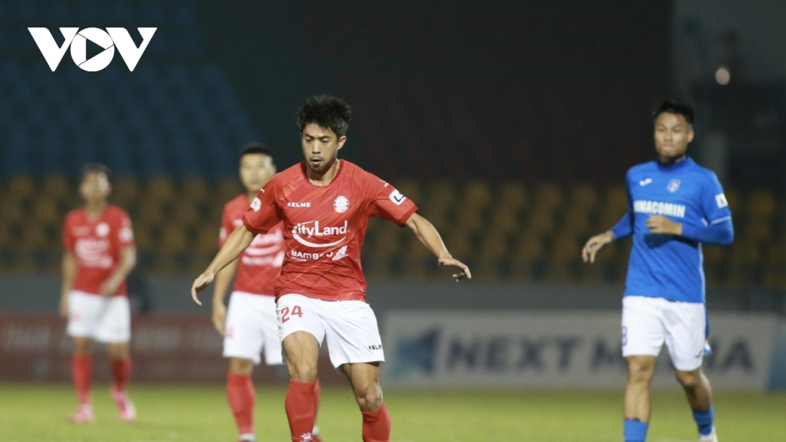 Chấn thương từ trận gặp HAGL, Lee Nguyễn có thể vắng mặt ở vòng 7 V-League 2021