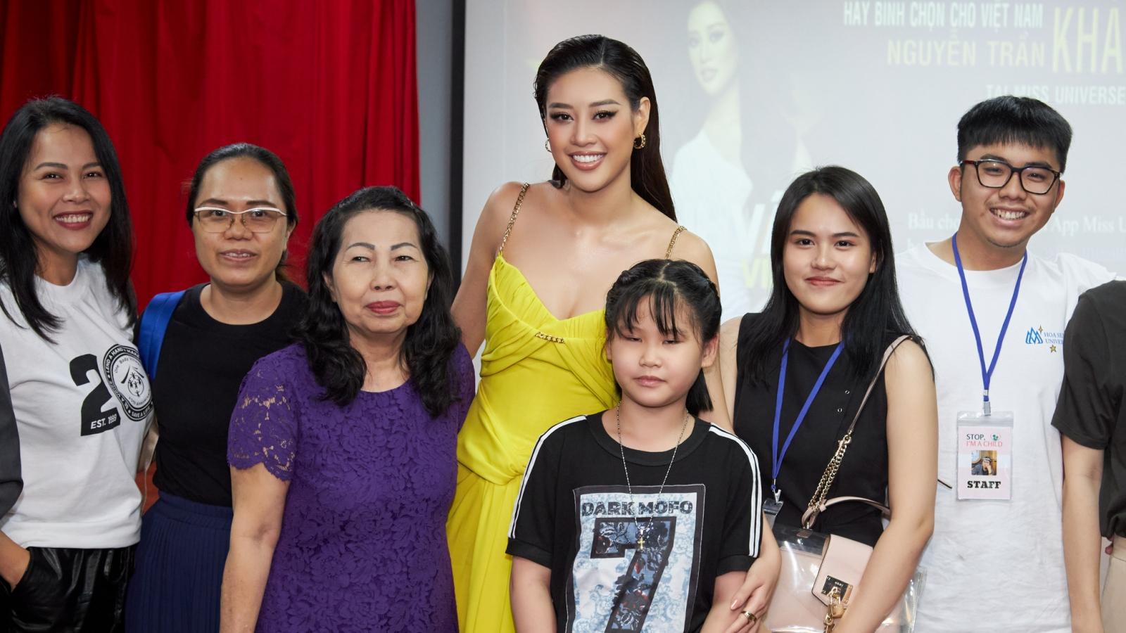 Hoa hậu Khánh Vân xúc động nhớ lại những chuyến đi giải cứu trẻ em gái bị xâm hại