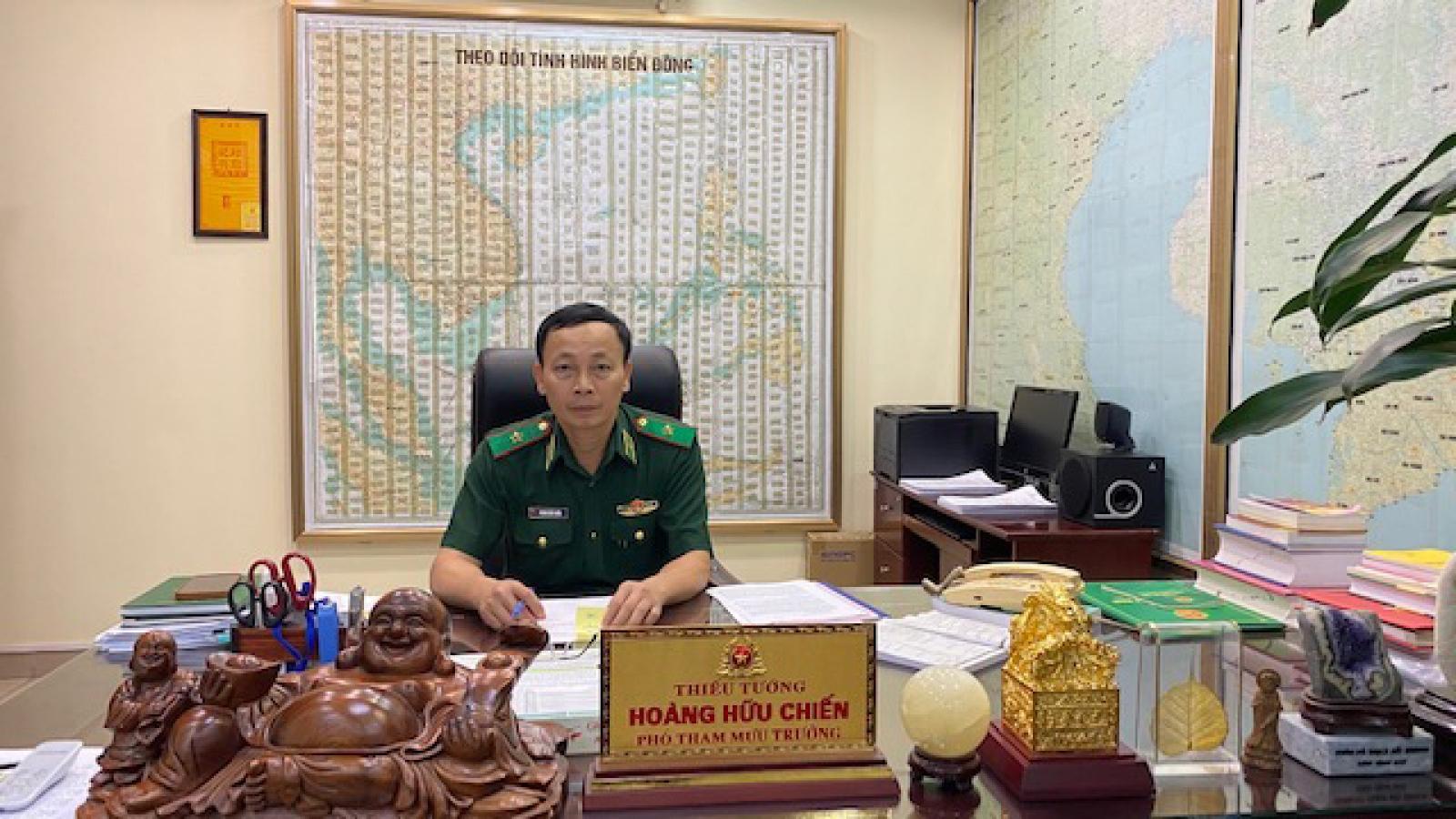 Phó Tham mưu trưởng Bộ đội Biên phòng: Ứng dụng công nghệ trong quản lý biên giới