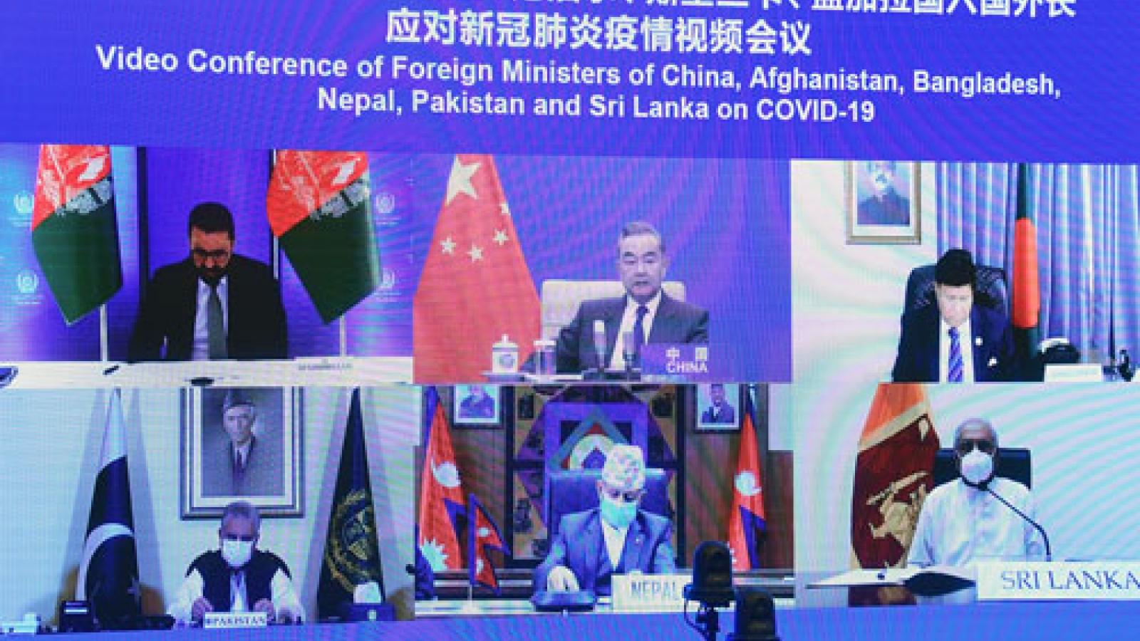 Trung Quốc họp bàn hợp tác chống dịch với các nước Nam Á, Ấn Độ không tham dự