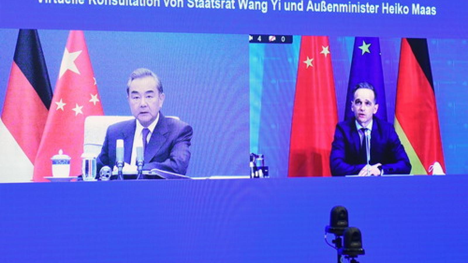 """Trung Quốc kêu gọi Đức tẩy chay """"tách rời"""" và duy trì chuỗi cung ứng toàn cầu thông suốt"""