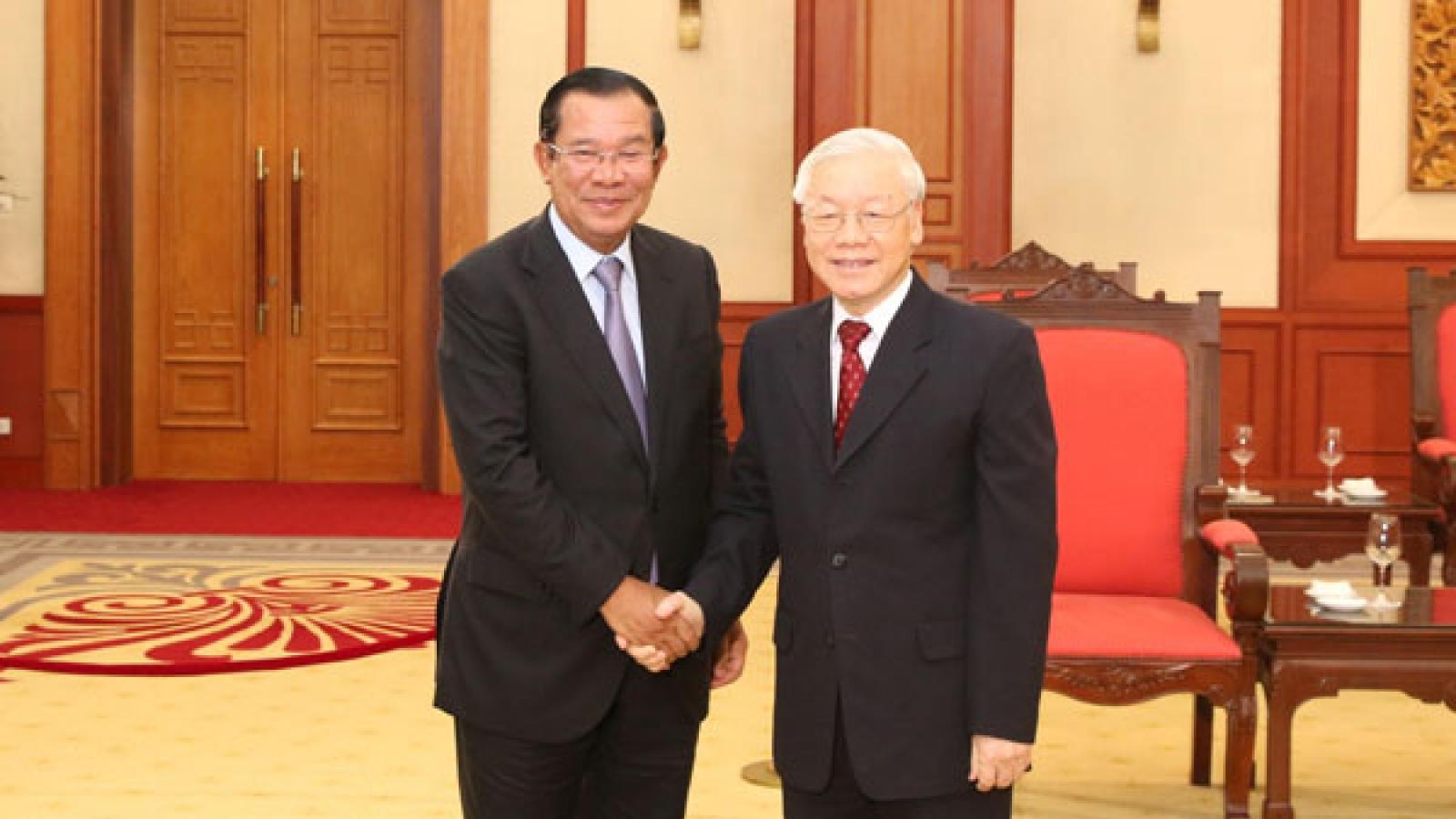 Tổng Bí thư Nguyễn Phú Trọng gửi thư thăm hỏi tình hình dịch Covid-19 tại Campuchia