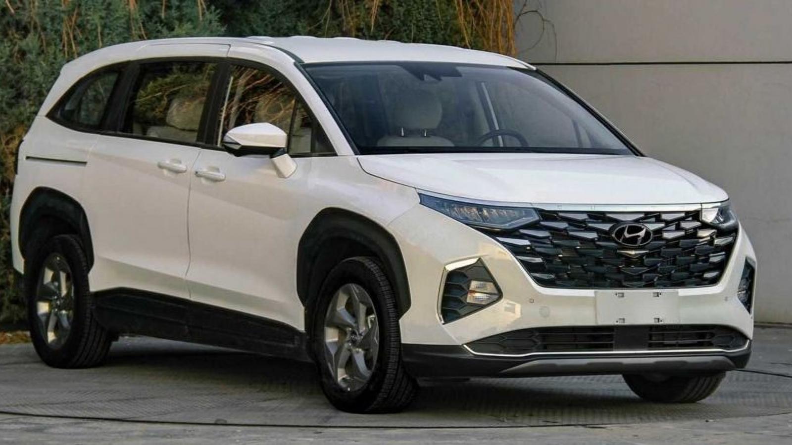 Hé lộ những hình ảnh về Hyundai Custo MPV tại Trung Quốc