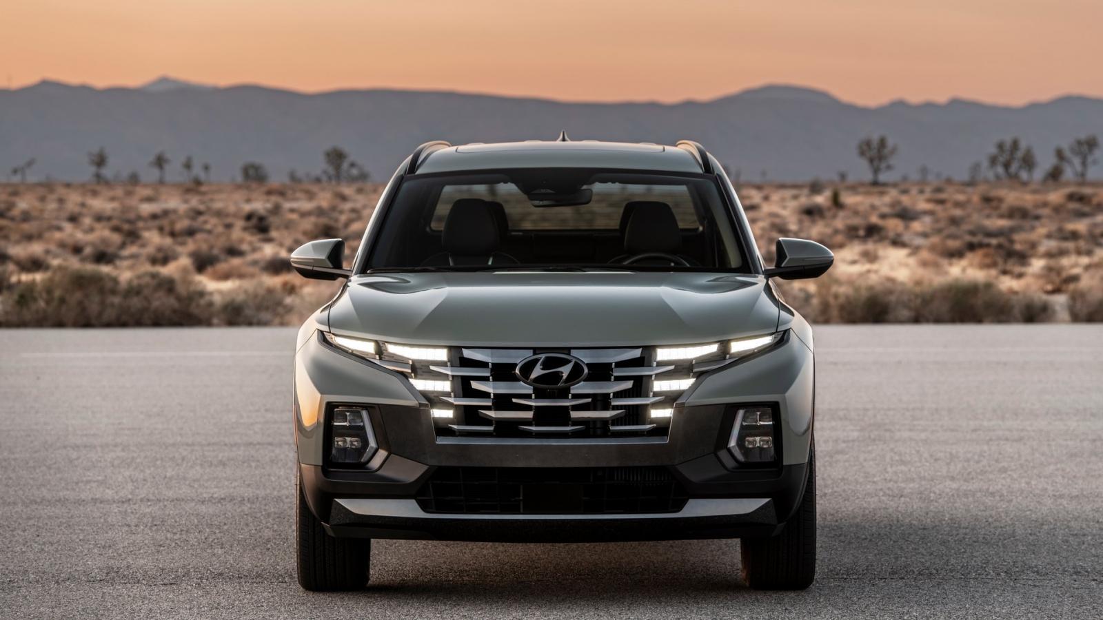 Ảnh chi tiết mẫu bán tải đầu tiên của Hyundai - Santa Cruz