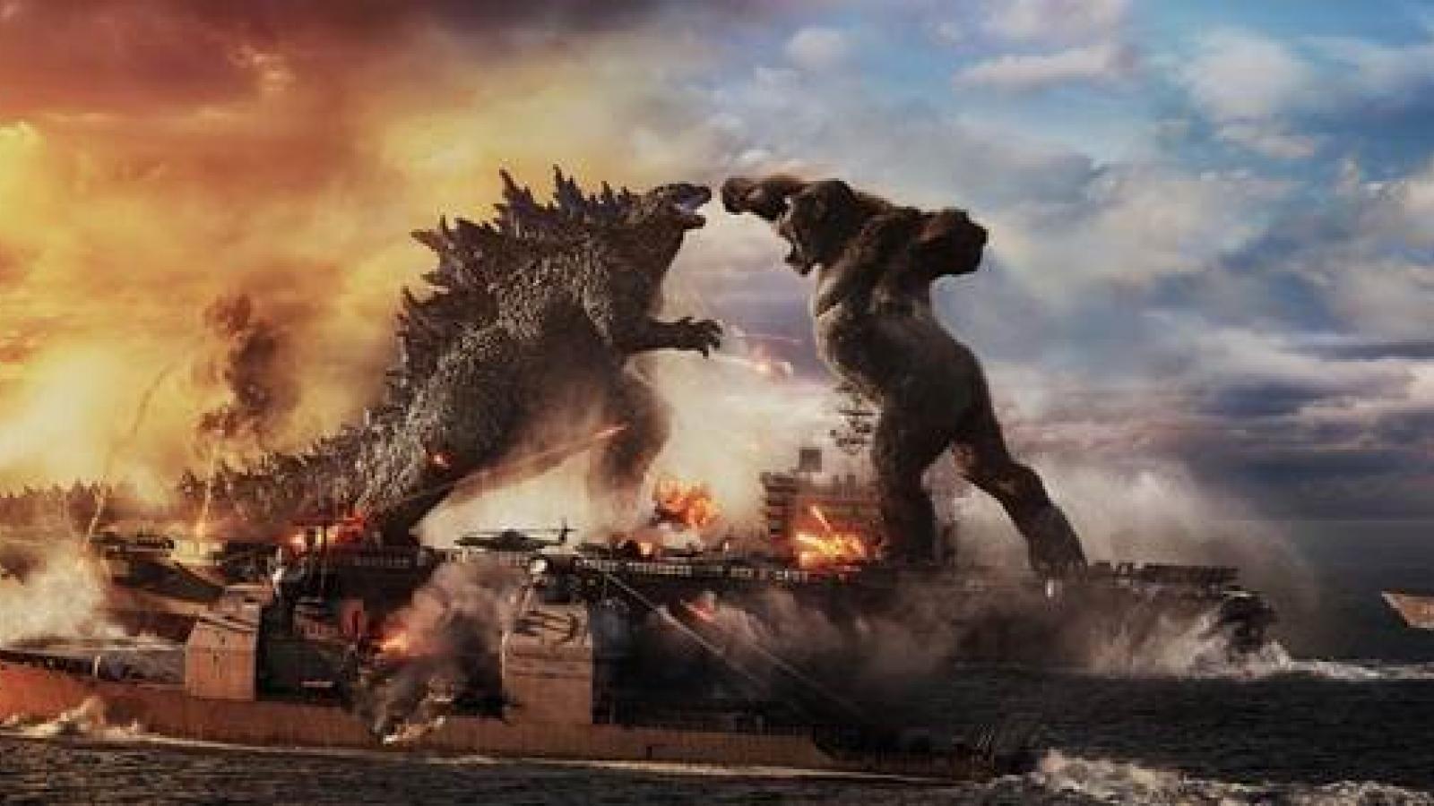 """""""Godzilla đại chiến Kong"""" chính thức cán mốc doanh thu 100 tỷ đồng"""
