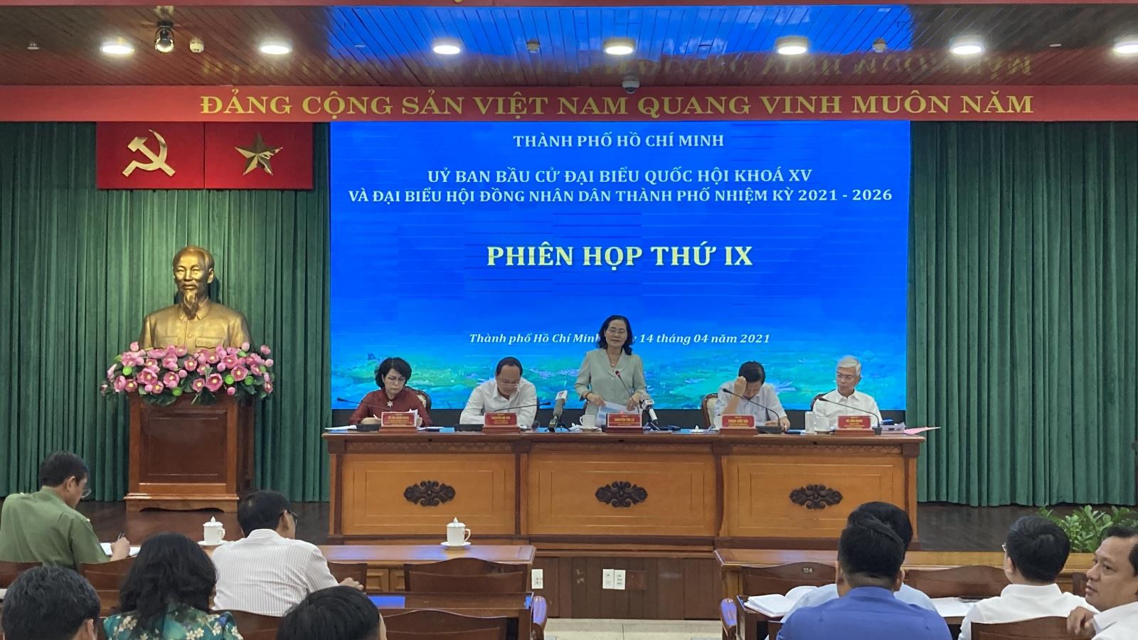 TP HCM đồng loạt niêm yết danh sách cử tri tại phường, xã, thị trấn