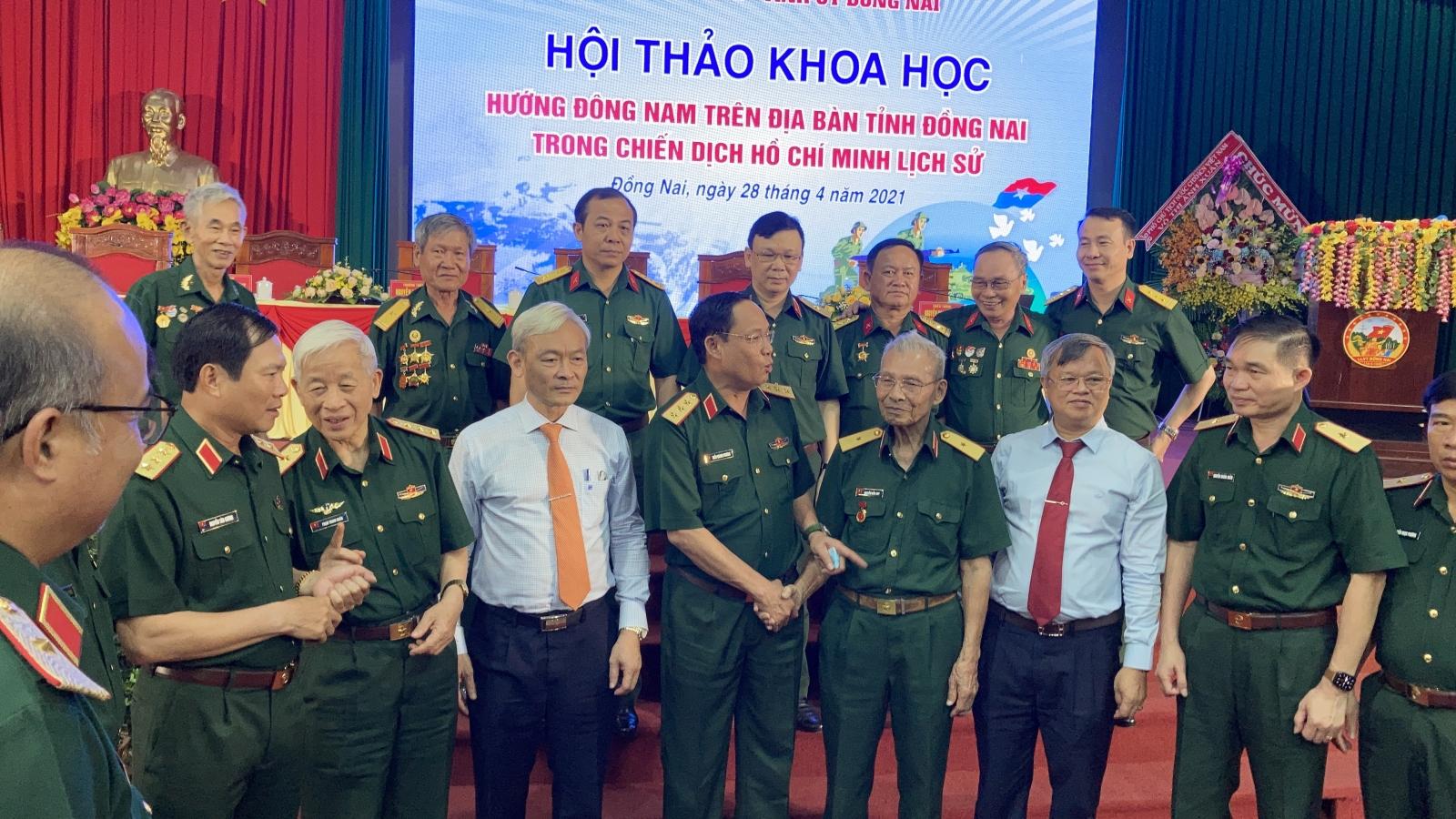 Mũi tiến công hướng Đông Nam trong chiến thắng 30/4 lịch sử