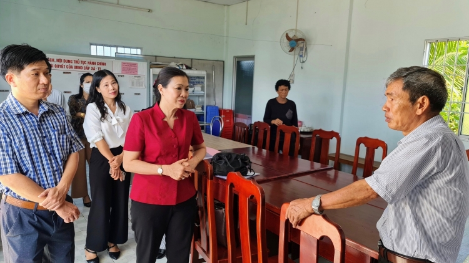 Ủy ban Trung ương MTTQ kiểm tra công tác bầu cử tại tỉnh Bạc Liêu