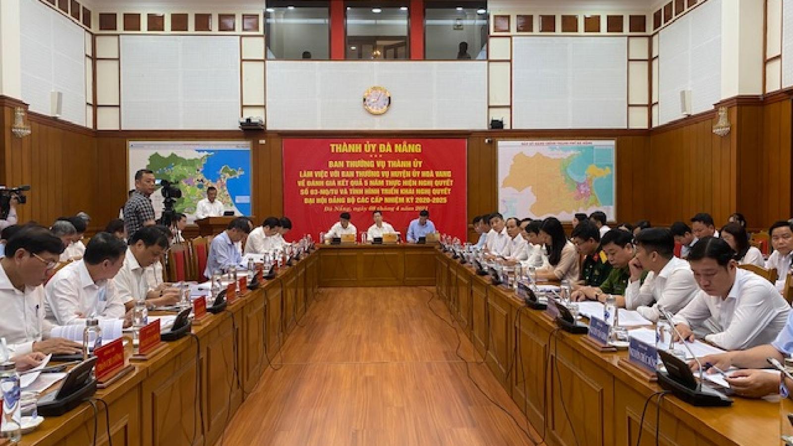 Đà Nẵng điều chỉnh nhiệm vụ, xây dựng huyện Hòa Vang lên thị xã vào năm 2025