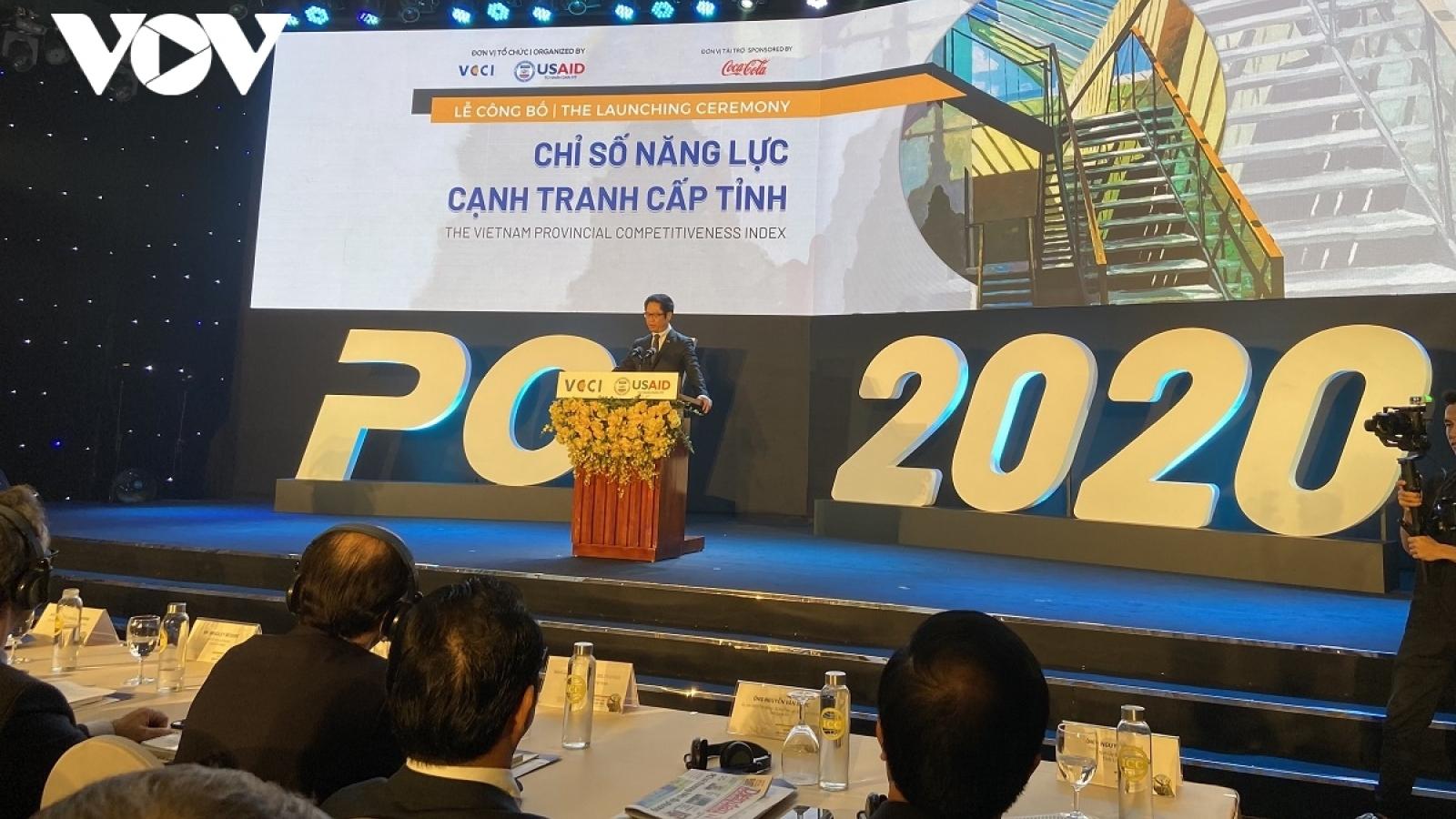Quang Ninh retains top spot in PCI 2020 Rankings