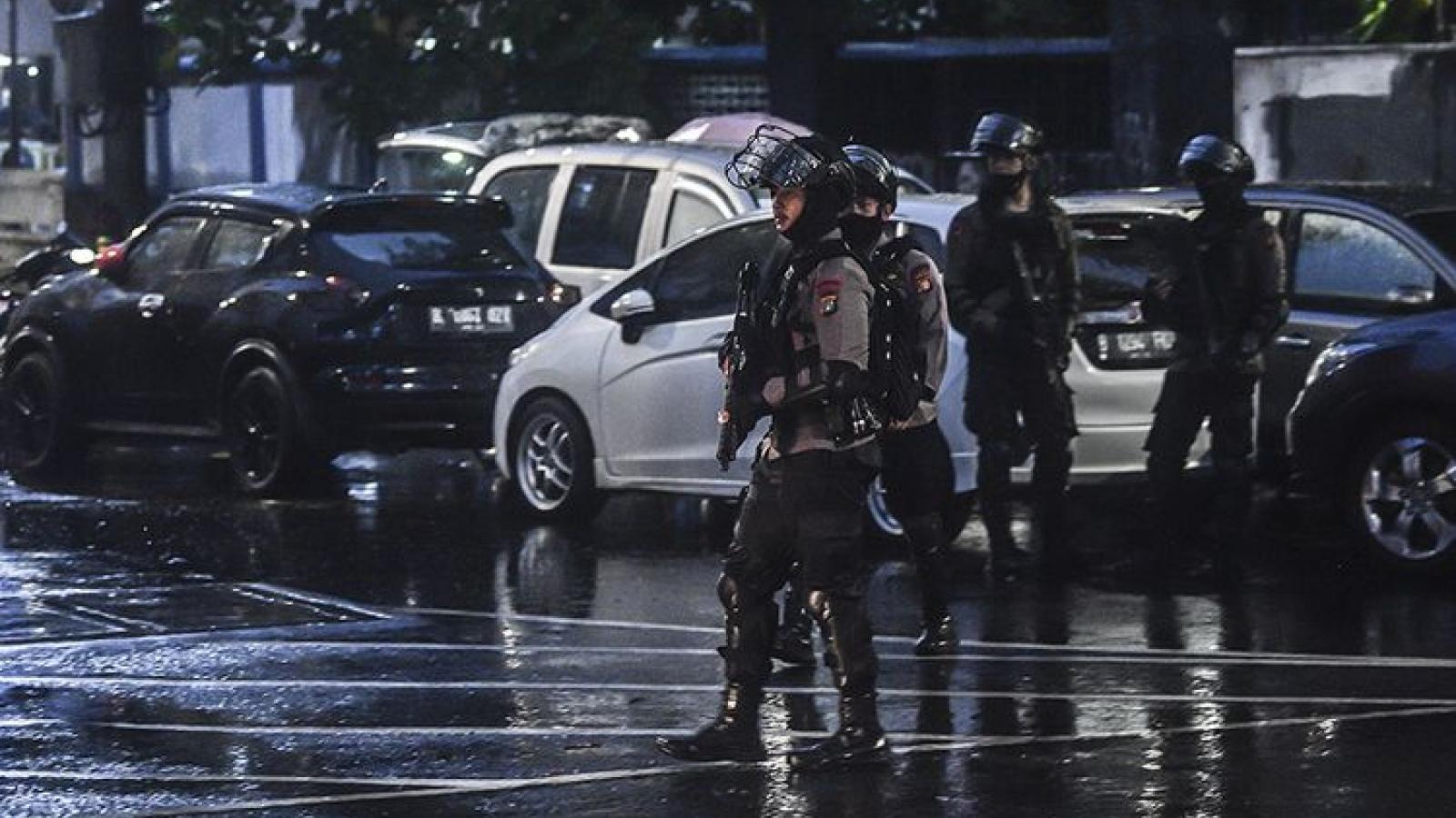 Indonesia tăng cường an ninh sau vụ xả súng nhằm vào cảnh sát