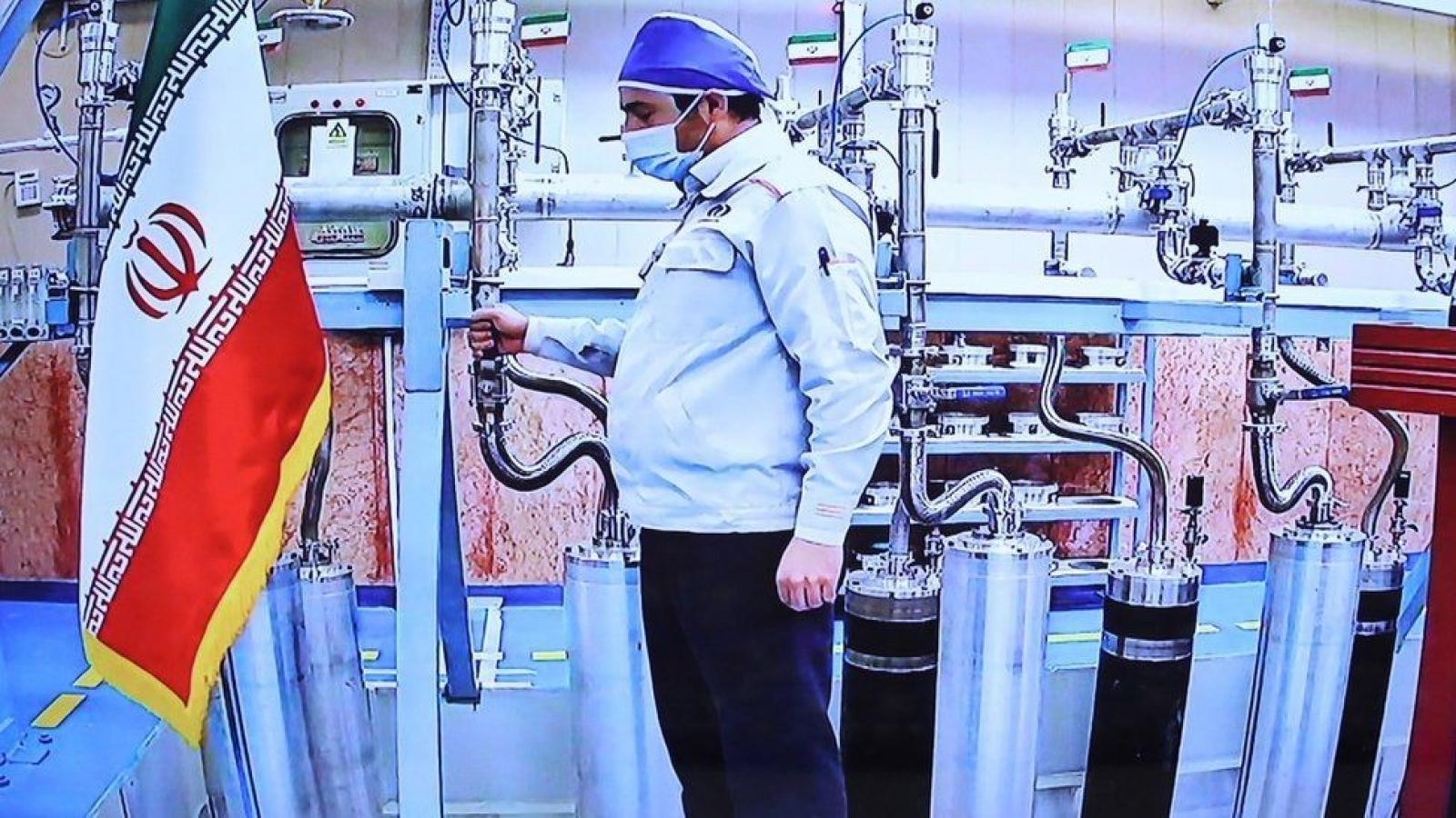 Sau vụ tấn công cơ sở hạt nhân, Iran tuyên bố làm giàu urani lên mức cao nhất