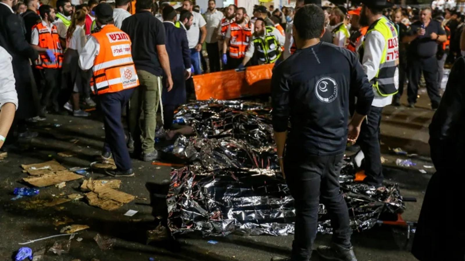 Ít nhất 44 người thiệt mạng trong vụ giẫm đạp tại lễ hội tôn giáo ở Israel