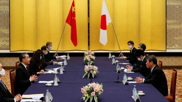 Japan expresses concerns over China's action in East Sea